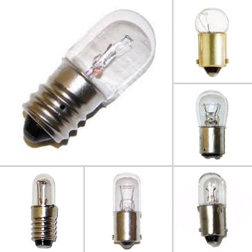 Miniature Indicator Light Bulbs