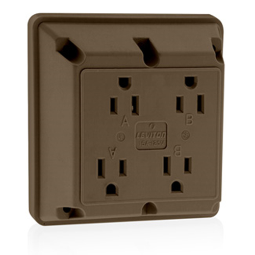 Four-In-One Receptacles