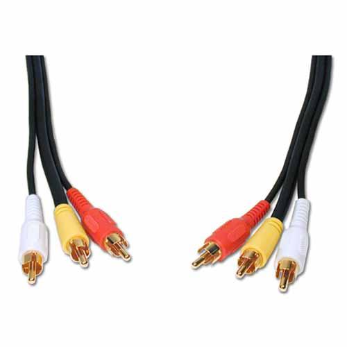 3 RCA Composite Cables