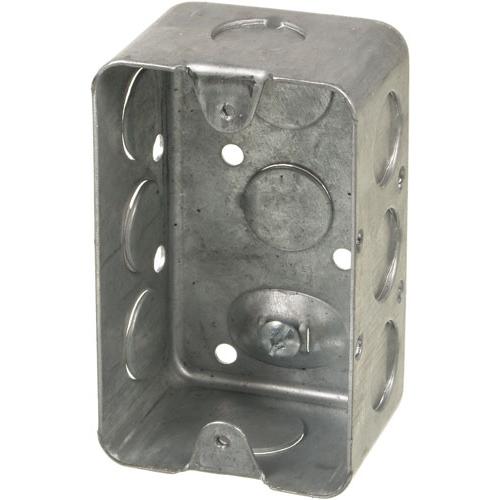 Non-Gangable Utility Boxes