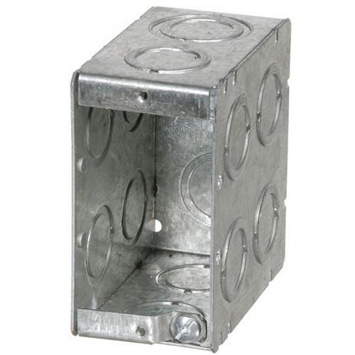 Non-Gangable Masonry Boxes