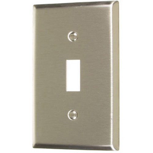 Stainless Steel Standard Toggle Wall Plates