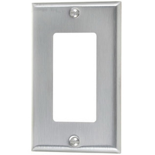 Stainless Steel Decorator Wall Plates