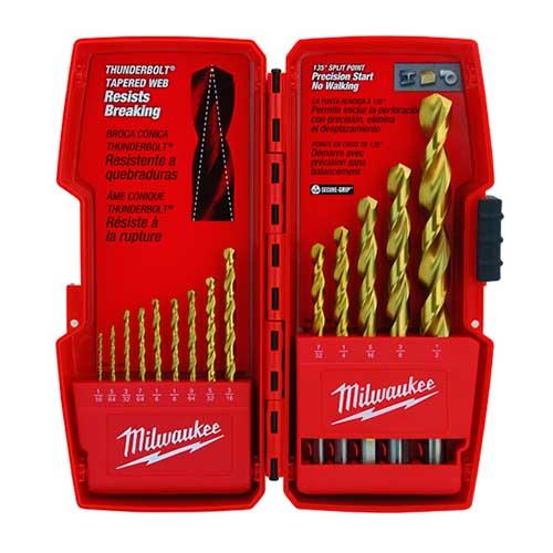 Thunderbolt Titanium Drill Bit Sets