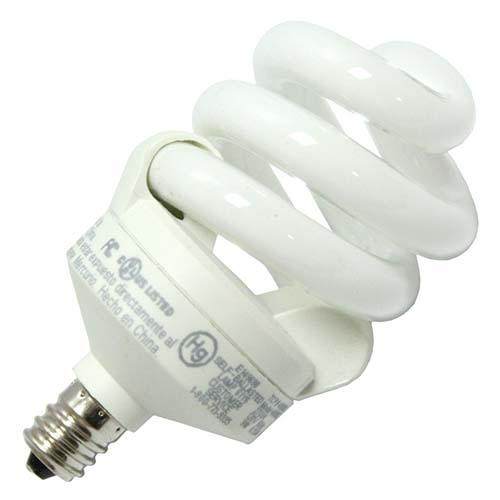 Candelabra (E12) Base Spiral CFLs