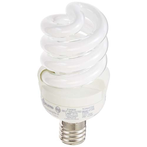 Intermediate (E17) Base Spiral CFLs
