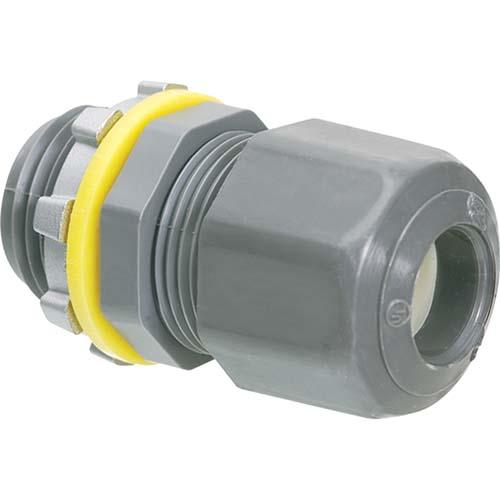 Low Profile Strain Relief Non-Metallic Cord Connectors