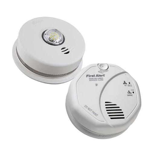 Combination Detectors and Alarms