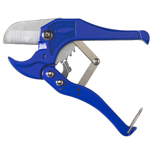 Heavy Duty Ratcheting PVC Pipe Cutter