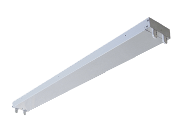 Pre-Wired Strip Fixture For LED Tubes