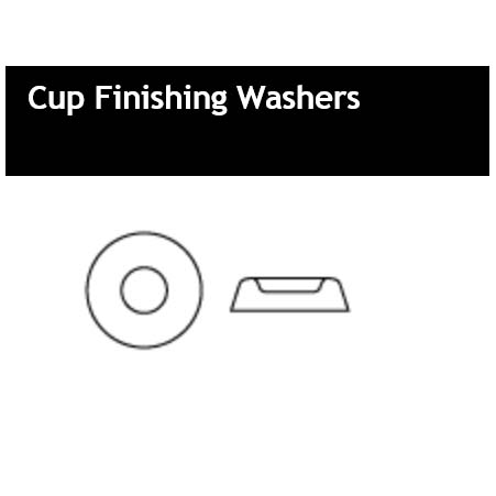 Cup Finishing Washers