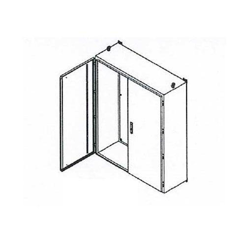 Double door enclosures