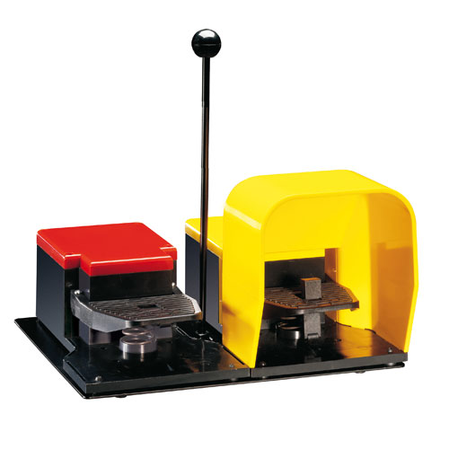 Two pedal foot switches