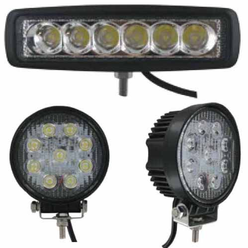 LED Tractor Utility Lamps