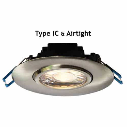 Gimbal & Regressed  LED Recessed Light