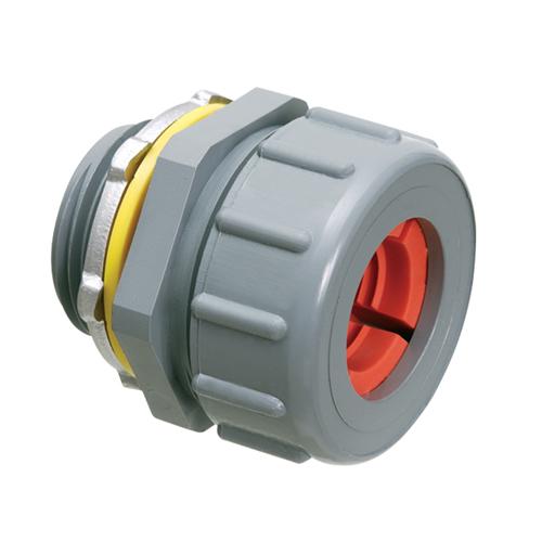 Strain Relief Non-Metallic Colorgrip Cord Connector