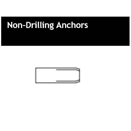Non-Drilling Anchors