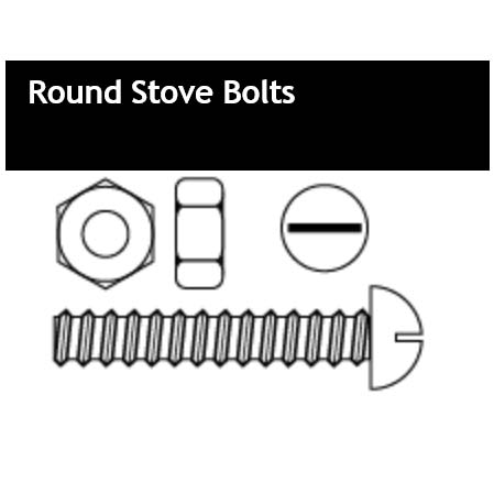 Round Stove Bolts