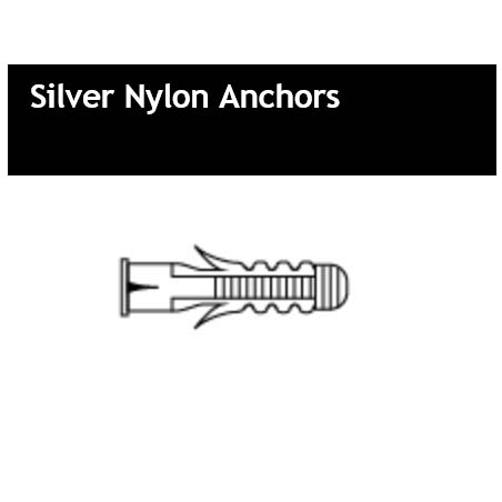 Silver Nylon Anchors