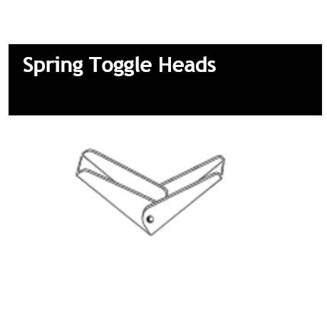 Spring Toggle Heads