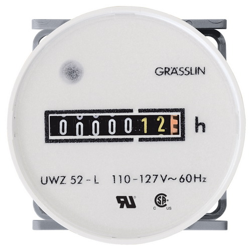 AC Hour Meter (Non-Reset Type)