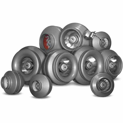 Vortex High Performance Inline Duct Blowers