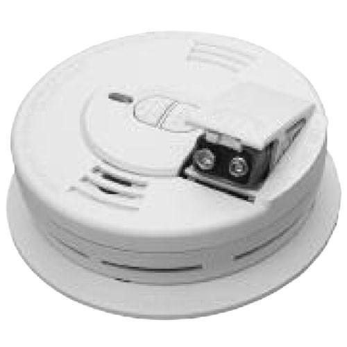 Kidde i9070CA - Front Load Battery Door - Ionization Sensor Smoke Alarm with Hush - 9V Battery Operated