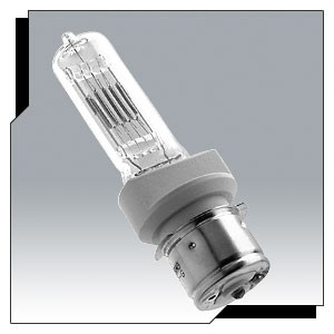 Ushio 1000085 - BTN - 750 Watt - 120 Volt - Clear - C-13D Filament - P28s Base - Halogen Bulb - 50 Packs