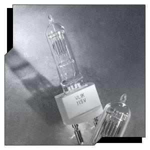 Ushio 1003248 - VL1K - 1000 Watt - 115 Volt - Clear - 8-C-13-D Filament - G22 Base - Halogen Bulb - 50 Packs