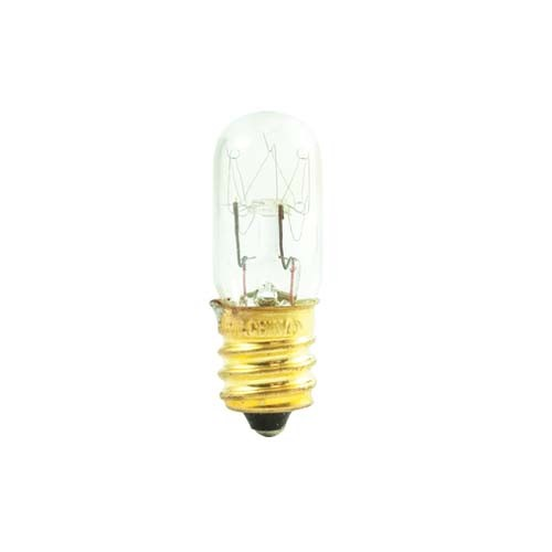 Bulbrite 708115 - 15W T4 Clear - 100 Lumens - E12 Candelabra Base - 130V - 50 Packs