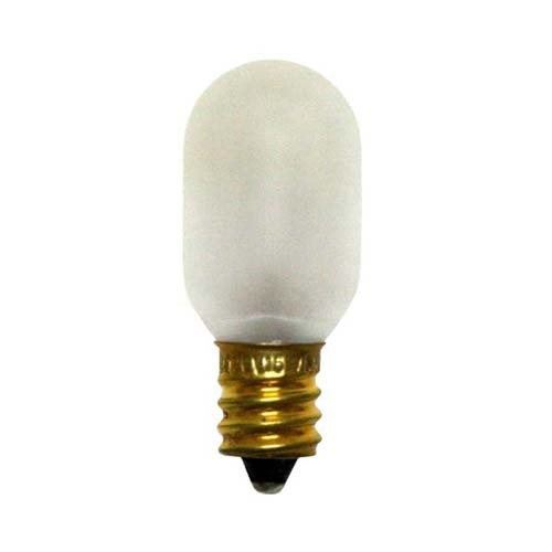 Bulbrite 706015 - 15W T7 Frost - E12 Candelabra Base - 120V - 50 Packs