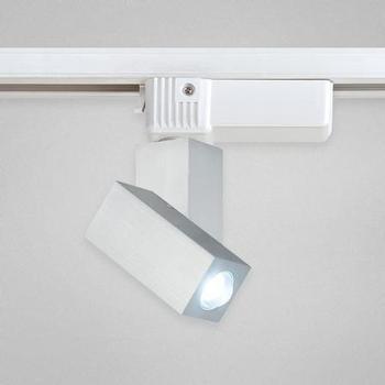 Eurofase 22498-014 - 1-LIGHT LED TRACK HEAD - Black/Platinum - 120V