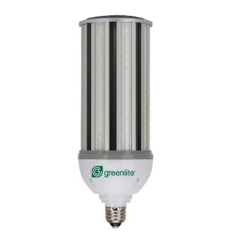 Greenlite 22W/HID/C/E26/50K - HID LED Replacement - 120- 277 Volt - 22 Walt - Non-Dimmable - Medium E26 Base - Flood 360 Degree - 5000K Natural Light - 2500 Lumens - 75 Watt Equals