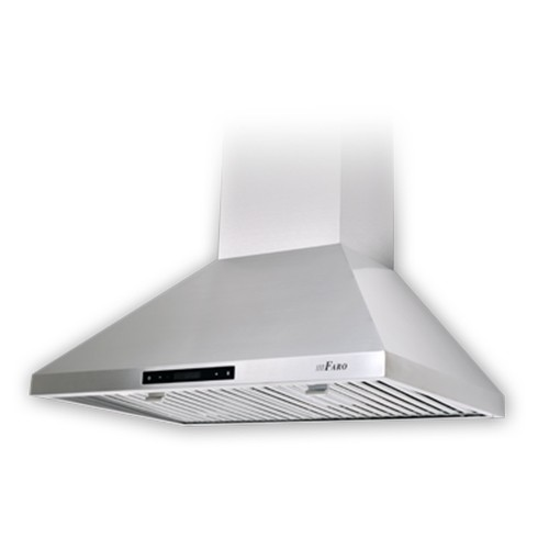 Lumifaro 24430-860-S - Range Hoods - 860 CFM - Low Speed 0.4 To Hi 7.0 Sones - Remote Control - Stainless Steel