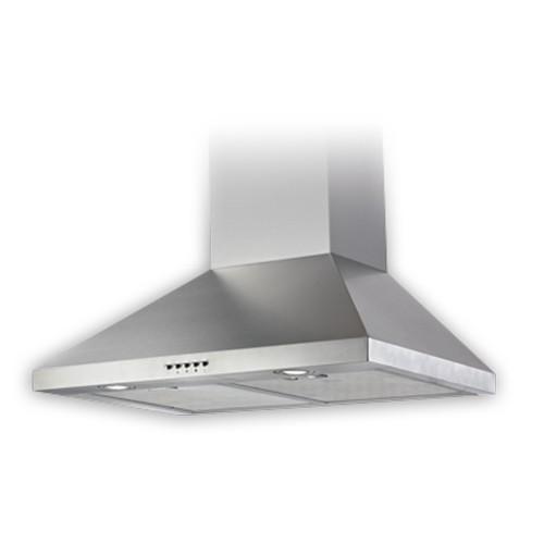 Lumifaro 24530-480-S - Range Hoods - 480 CFM - Low Speed 0.4 To Hi 7.0 Sones - Stainless Steel