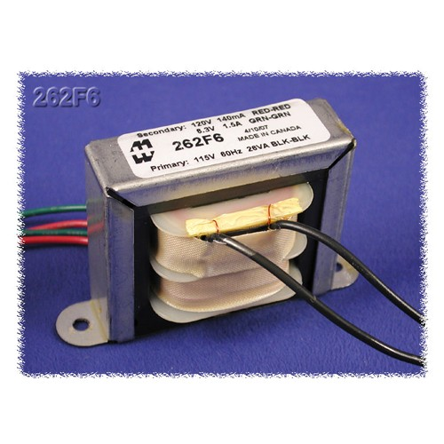 Hammond 262D12 - Power Transformer - High Voltage Plate And Filament Or Bias - 115 VAC Primary - 60Hz - 12VA
