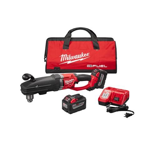 "Milwaukee 2709-22HD - M18 FUEL™ SUPER HAWG™ 1/2"" Right Angle Drill High Demand™ Kit"
