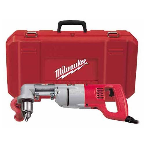 """Milwaukee 3107-6 - 1/2"""" D-Handle Right Angle Drill Kit - 0-500 RPM"""