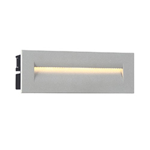 Eurofase 31576-017 - 8.5W LED OUTDOOR IN-WALL - Marine Grey - 120V - 190 Lumens - 3000K Warm White