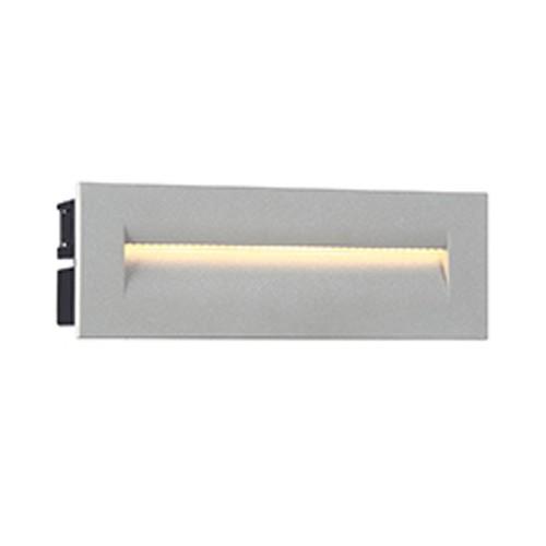 Eurofase 31576-017 - 8.5W LED OUTDOOR IN-WALL - Marine Grey - 120V - 190 Lumens - 3000K Warm White