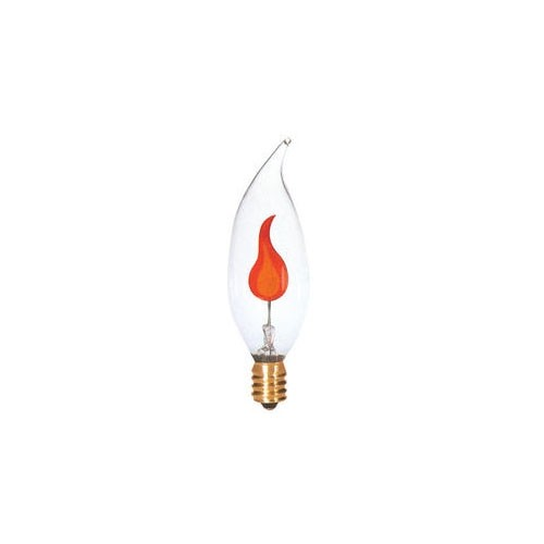Symban 3W CA8 Bent-Tip Clear - Chandelier Lamp