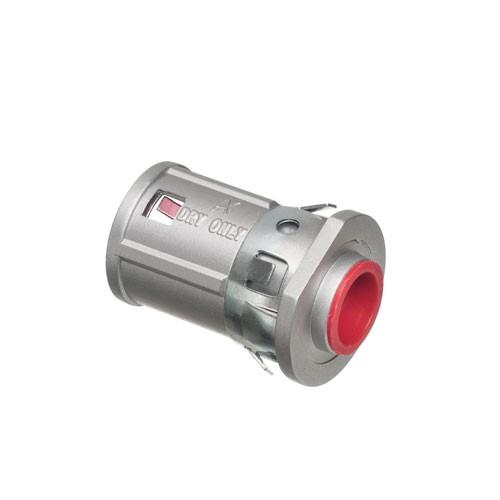 "Arlington 40RAST - 1/2"" Retrofit Snap²IT® MC Cable Connectors - Zinc - Silver - 25 Packs"