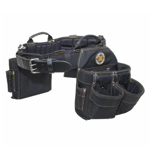 "Rack-A-Tiers 43246 - Electrician's Combo Belt & Bags - XXXL (50"" - 54"")"