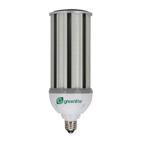 Greenlite 45W/HID/C/E39/50K - HID LED Replacement - 120- 277 Volt - 45 Walt - Non-Dimmable - E39 Base - Flood 360 Degree - 5000K Natural Light - 5400 Lumens - 150 Watt Equals