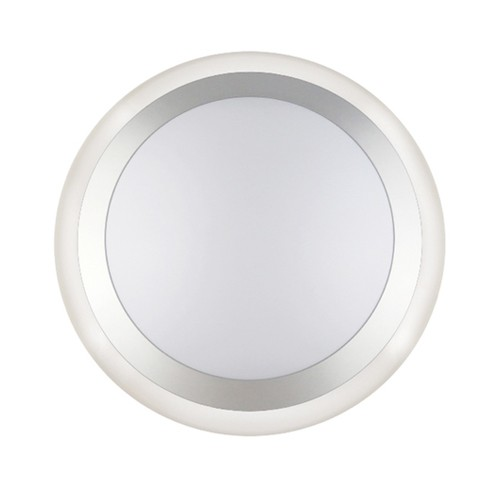 "Greenlite 20W/LED/CL/FM/RP/ST-13/D - 20W 14"" LED Engine Dim Round ""Saturn"" Ceiling Fixture - 1200 Lumens - 3000K Warm White"