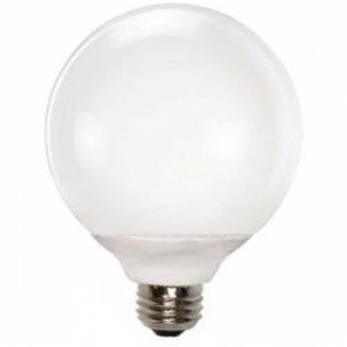 TCP 4G4015TD - CFL TruDim G40 - 15 Watt - 2700 Kelvin - 12,000 Hours Life - 60 Watt Incandescent Equivalent - Dimmable Decorative Globe Light Bulb