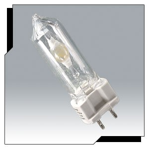 Ushio 5000875 - UHI-S150DM/A/UVP - 150 Watt - Metal Halide - 4200K Cool White - T7 Clear - UV Protected - G12 Base - ANSI M102/E - 10 Packs