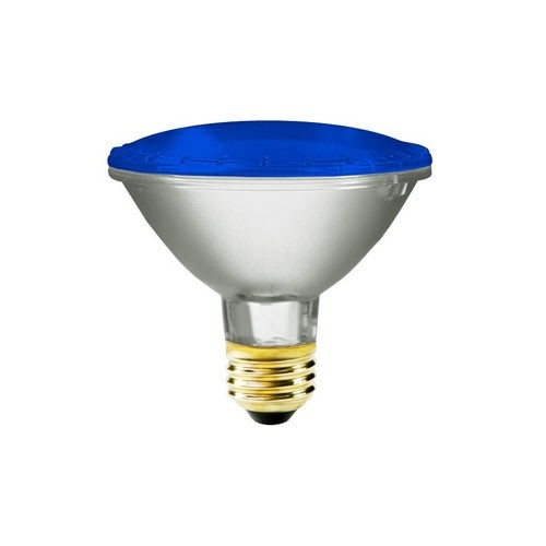 Symban 75 Watt - 130 Volts - PAR30(Short Neck) - Flood - Blue