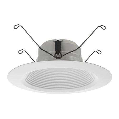 "Lithonia Lighting 65BEMW LED 40K 90CRI M6 - 5""/6"" Baffle LED Module - 845 Lumens - 4000K Cool White - 120V - Matte White - CRI 90+ - 6 Packs"