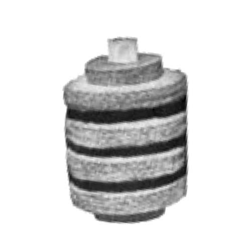 """ALLTEMP 69-41412 - Oil Filtration Filters - 3 1/4"""" OD × 3/4"""" ID × 4"""" Long - White - 24/Case"""